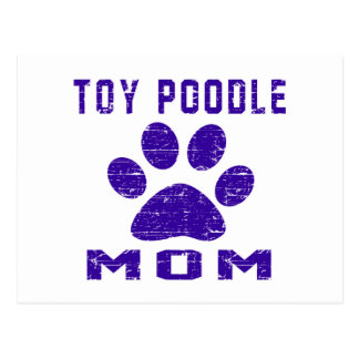 Toy Poodle Mom Gifts Designs Postcard