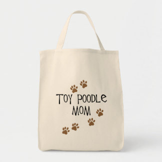 Toy Poodle Mom Tote Bag