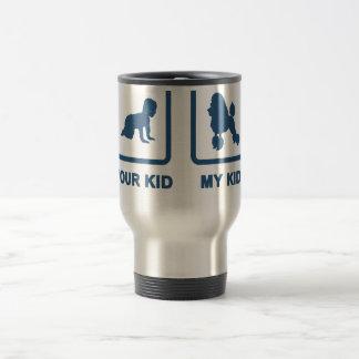 Toy Poodle 15 Oz Stainless Steel Travel Mug