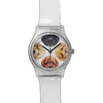 Toy poodle original design watch