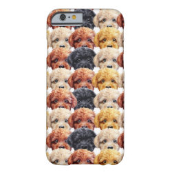Toy poodle Original painting and design by miart Barely There iPhone 6 Case