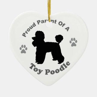Toy Poodle Ornament