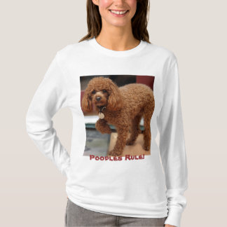 Toy Poodle Paw Up T-Shirt