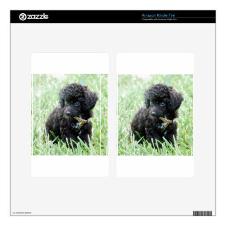 Toy Poodle Puppy Kindle Fire Decal