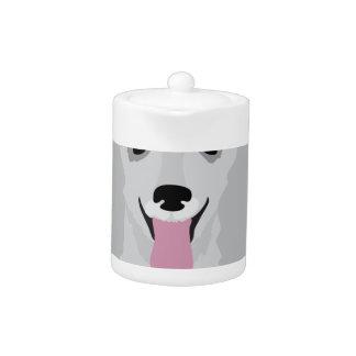 Toy Poodle Teapot