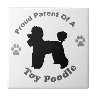 Toy Poodle Tile