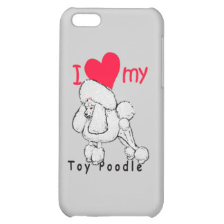 Toy Poodle title iPhone 5C Cases