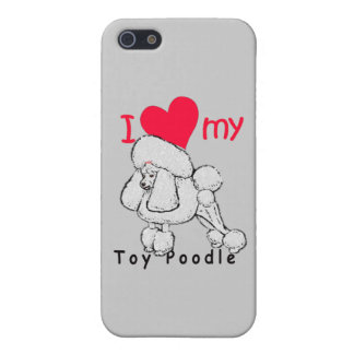 Toy Poodle title iPhone SE/5/5s Cover