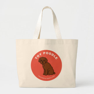 Toy Poodle Tote Bag