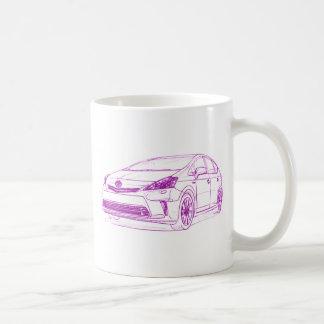 Toy Prius GenV 2012 Classic White Coffee Mug