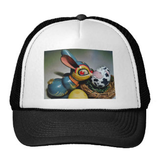 Toy Rabbit and  cow egg Trucker Hat
