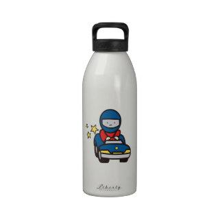 Toy Race Car Reusable Water Bottles