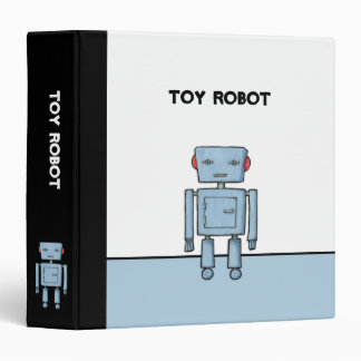 Toy Robot Binder