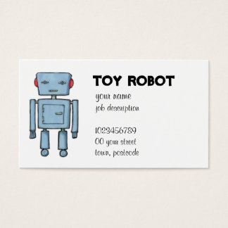 Toy Robot Business Card