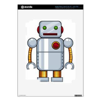 Toy robot iPad 3 decals