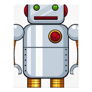 Toy robot letterhead