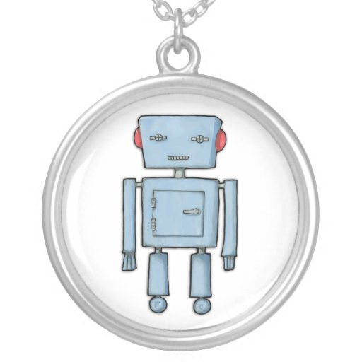 Toy Robot Necklace