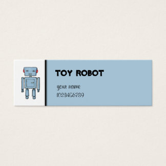 Toy Robot small Business Card