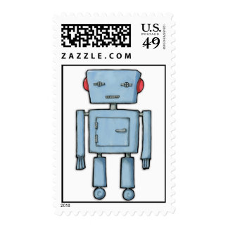 Toy Robot Stamp
