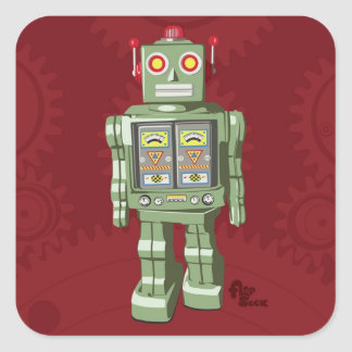 Toy Robot Stickers