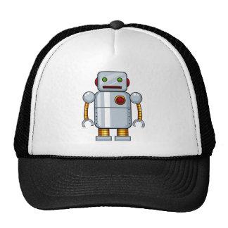 Toy robot trucker hat