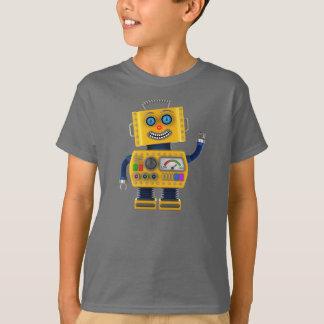 Toy robot waving hello T-Shirt