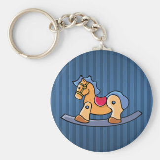 Toy Rocking Horse Keychain