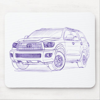 Toy Sequoia 2008 Mouse Pad