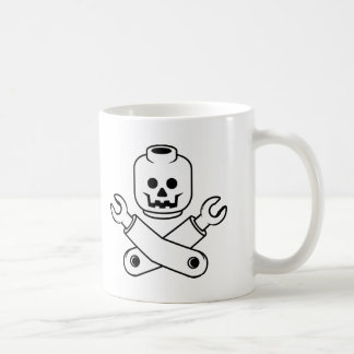 toy skull and crossbones coffee mugs