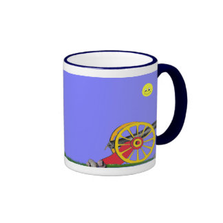 Toy Soldier and Toy Cannon Mug