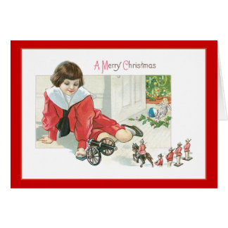 Toy Soldier Christmas Card