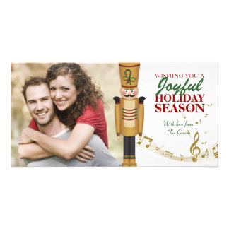 Toy Soldier Christmas Holiday Greeting Photo Cards