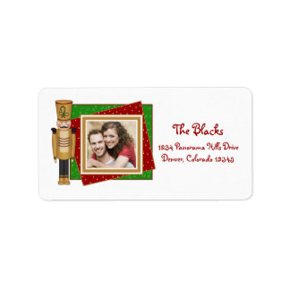 Toy Soldier Christmas Return Address  Labels