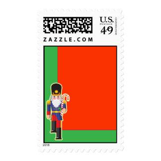 Toy Soldier Corne Postage Stamp