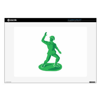 "Toy Soldier Decals For 15"" Laptops"