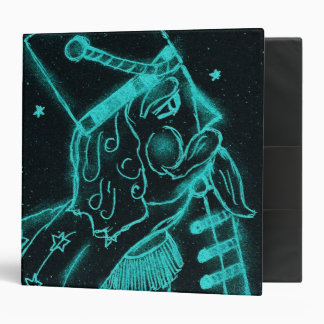 Toy Soldier in Black and Aqua Binder