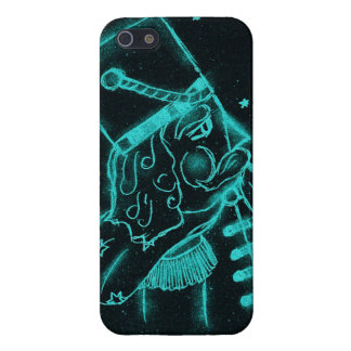 Toy Soldier in Black and Aqua Cover For iPhone SE/5/5s