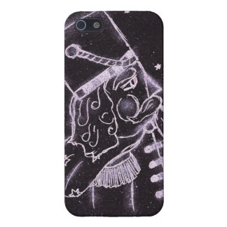 Toy Soldier in Black and Purple iPhone SE/5/5s Case