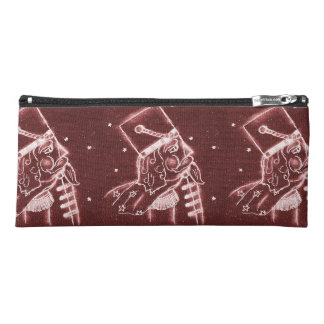 Toy Soldier in Cranberry Red Pencil Case