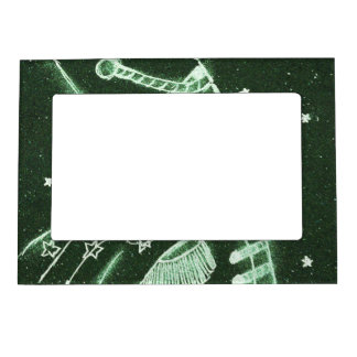 Toy Soldier in Deep Forest Green Magnetic Picture Frame