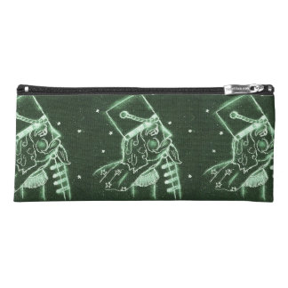 Toy Soldier in Deep Forest Green Pencil Case