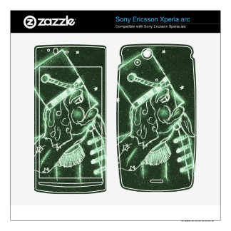 Toy Soldier in Deep Green Xperia Arc Skins