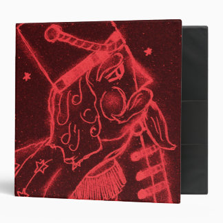 Toy Soldier In Red 3 Ring Binder