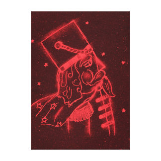 Toy Soldier in Red Canvas Print