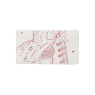 Toy Soldier in Red Checkbook Cover
