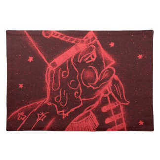 Toy Soldier in Red Cloth Placemat