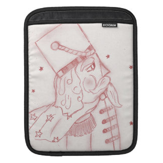 Toy Soldier in Red iPad Sleeve