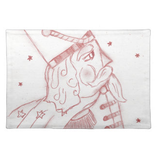Toy Soldier in Red Placemat