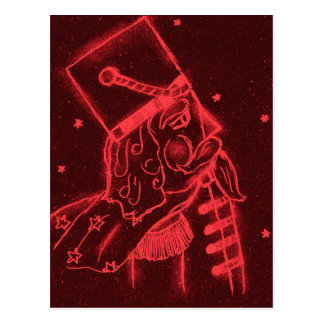 Toy Soldier in Red Postcard