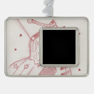 Toy Soldier in Red & White Ornament